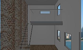 mezzanina1 Zeitgenosse Wohnzimmer Davide Saturni