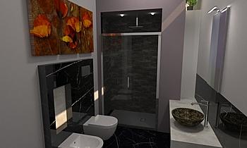 Ferro Nicoletta Contemporary Bathroom Antonino Stracuzzi