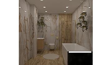 Дама Купа баня 1 Classic Bathroom Vesela Neshkova
