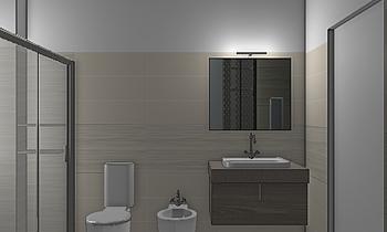 progetto boiserie Classic Bathroom Mario Cicero