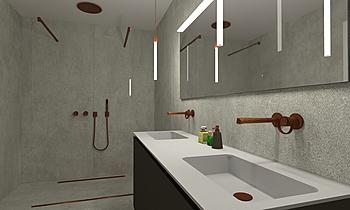 BAGNO ENSUITE Modern Fürdőszoba Giovanni Latino