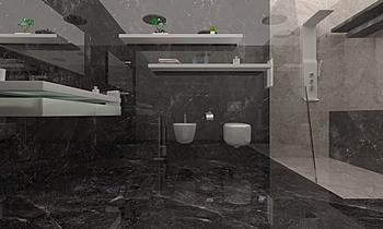 Emcer bathroom Классический Ванная Purav Doshi