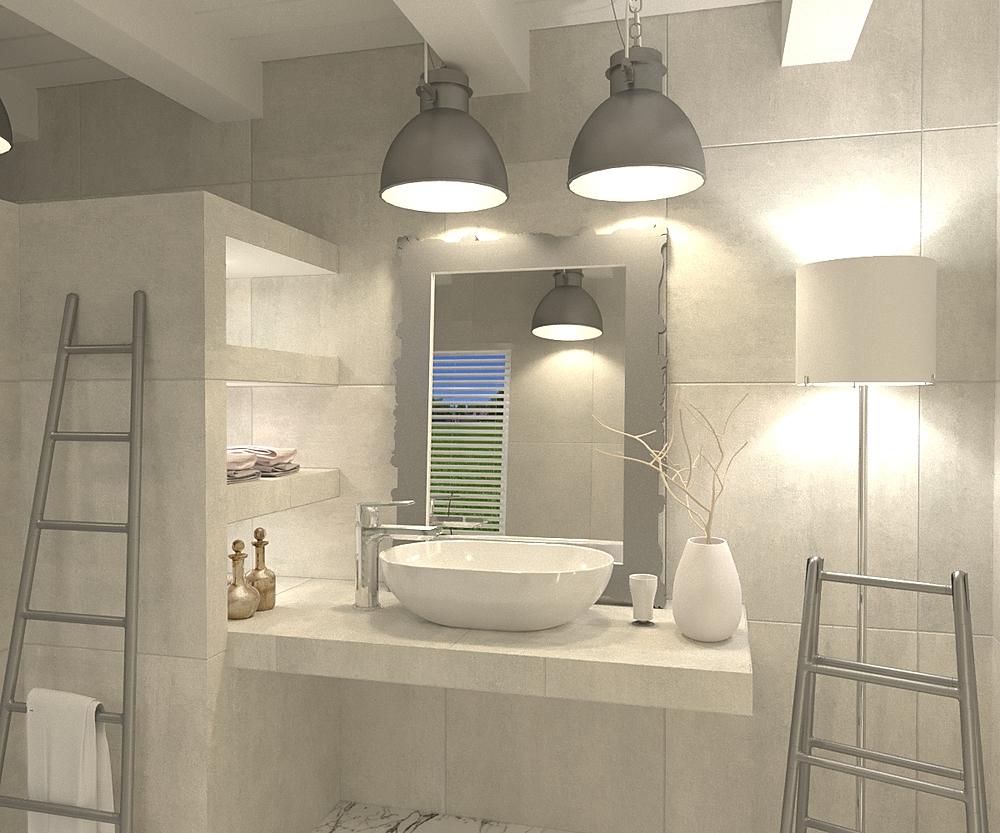 Baño con estanterías Modern Bathroom BdB  TELLO DE ARCO
