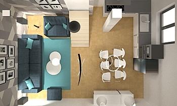 proyecto gondomar Moderne Wohnzimmer Orballo Decoración