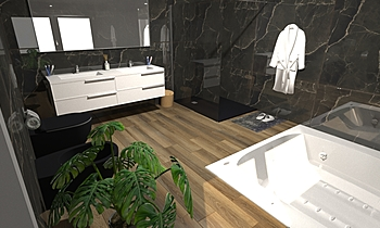 Progetto2 Modern Bathroom Antonio Giannelli