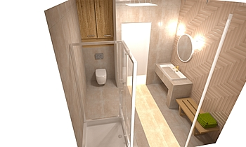 Kupelna Spodna Classic Bathroom Lenka Konečna