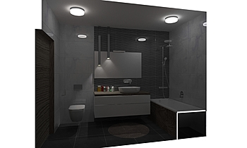 Vendég fürdő Classic Bathroom Designcsempe .HU
