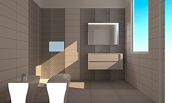 motivo_buccirosso Classic Bathroom Sandra  Fusaro