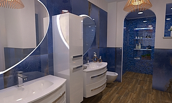 progetto bagno 301 Classic Bathroom Gianfreda ShowRoom