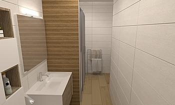 REBECA BAÑO 2 Classic Bathroom Comercial Cortazar Diseños personalizados