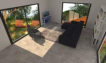 Nouvel Classic Living room LIVING STORE  NANTES