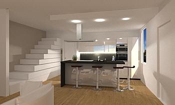 salotto terza IPOTESI Classic Living room Elena Dallara