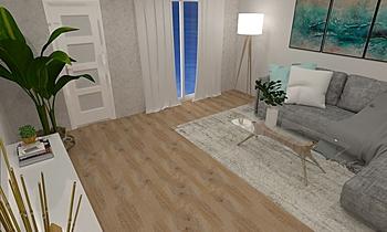 juan galvez ariza salon Contemporary Living room gonzalo y mariano  soler