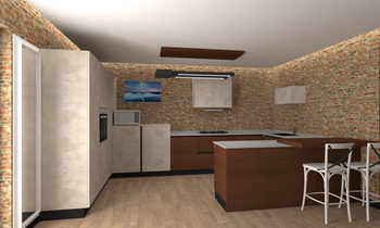 project 23 Modern Kitchen Amedeo Abbondanza