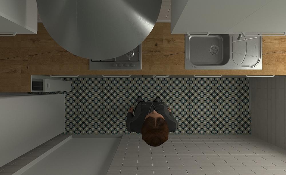 grazia cucina Moderno Cucina Giampaolo Mosciatti