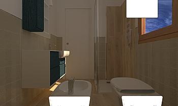 BAGNO 1,75X2,20 Classic Bathroom Viviana Pusceddu