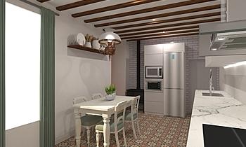 Carlos Moreno Cocina Clasic Bucătărie BdB MOTACUER S.L.