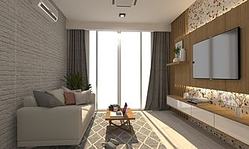 0 Modern Living room Pisanu Malithong /Boonthavorn (Rangsit)