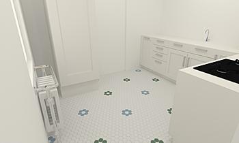Veenstra Classic Kitchen Z-Tiles Tegels & Mozaïek