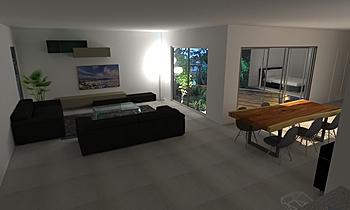 test Classic Living room LIVING STORE  NANTES