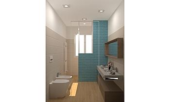 BAGNO ESISTENTE-LIBERO E ... Classique Salle de bain JESSICA ORAZI