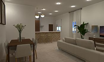 angel delgado salon Contemporary Living room gonzalo y mariano  soler