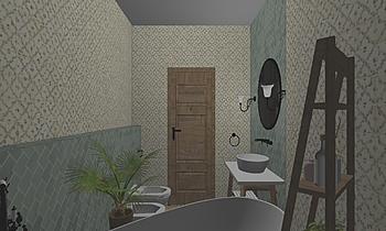 Vzorová koupelna 1 Klasyczne Łazienka PM-reko s.r.o.