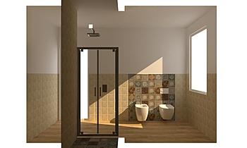 BAGNO MEMORY MOOD_nov pos... Contemporain Salle de bain GUIDO SOFFRITTI