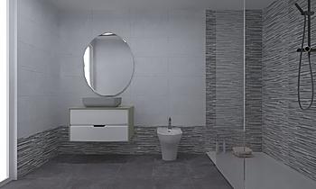 Project 1 Klasický Koupelna Castellon Tienda Ceramica Saloni