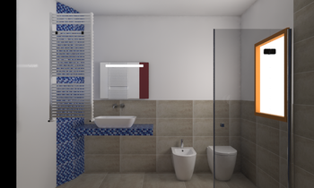 Project lazzar Contemporary Bathroom Davide D'Orso
