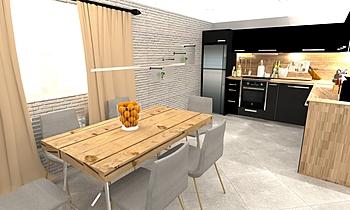 Гошко=кухня Modern Kitchen Ивета  Панчева