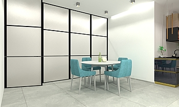 Garruba House3 Modern Huiskamer Gianluca Landriscina