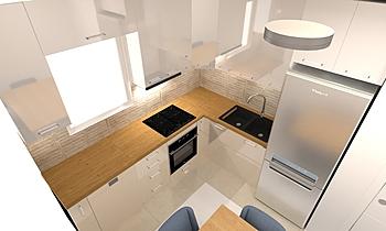 Kitchen Moderní Kuchyň Milos Ke