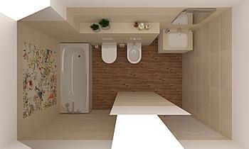 Plaine Stone Classique Salle de bain Keraton Ob