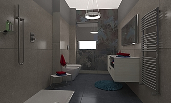 SAVONE ANDREA Klasický Koupelna Federica Lorini