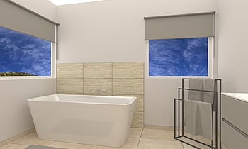 SALLE DE BAIN REF DOUNIAU... Classic Bathroom Salle Battice