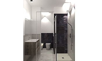 di bella Klasický Koupelna Davide D'Orso