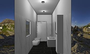 bagno la fortuna 3 Classique Salle de bain nicola marchese