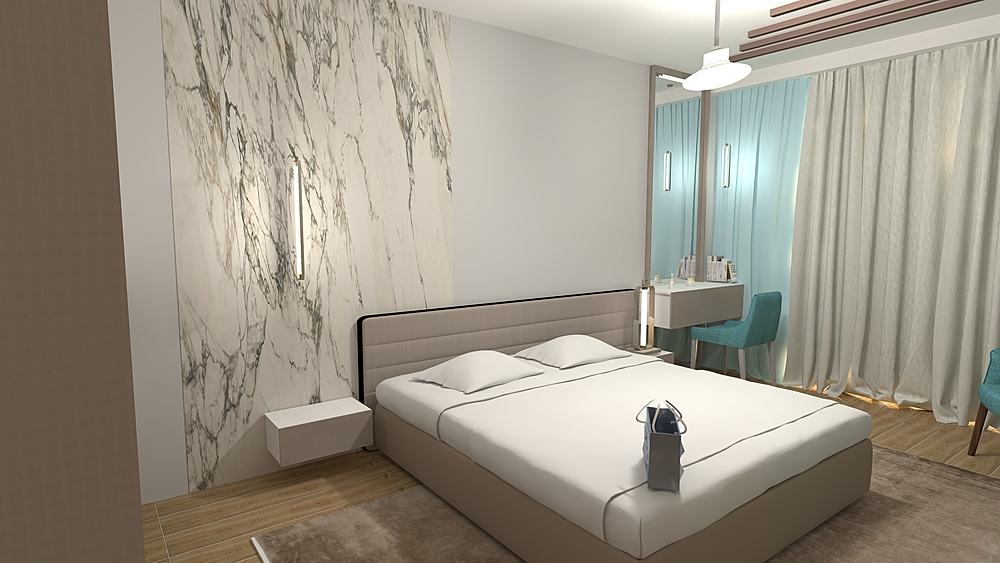 IV Bedroom Contemporary Bedroom Iliana Ovtcharova