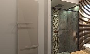 Bagno Doccia Kortárs Fürdőszoba  AmbienteBagno  Antichi
