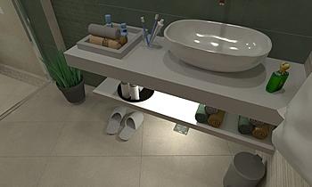 5 Dr Ali Moderne Salle de bain Rashid Rushdi