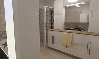 fürdő Moderní Kuchyň Éva Éva