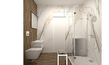Šekerija prizemlje kupaon... Klasický Koupelna Siniša Palikuća