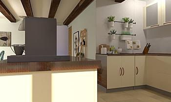 DiningRoom_KlinkerDuna Ar... Transitional Dining room María Crespo González