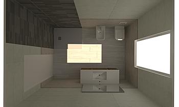 BAGNO GRANDE ZONA GIORNO_... Modern Fürdőszoba GUIDO SOFFRITTI