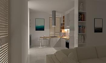 LIVING  Modern Cameră de zi Guglielmo Puglisi