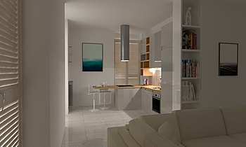 LIVING  Modern Huiskamer Guglielmo Puglisi