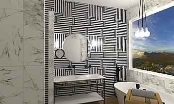 BAÑO MODERNO Modern Bathroom eva pozo