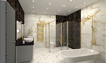 vasantkunj master toilet Clasic Baie HR Johnson