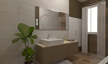 bagno primo piano Classic Bathroom GREGOLO SRL